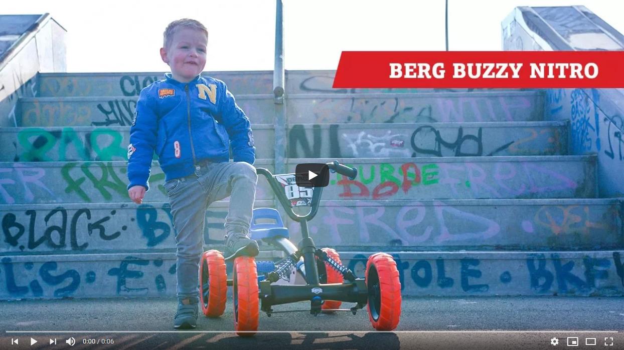 BERG Buzzy Pedal-gokart | Stabil unterwegs auf vier Rädern