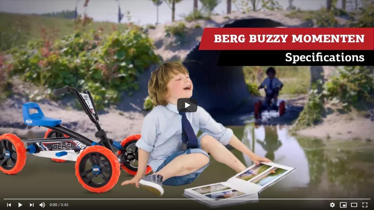 BERG Buzzy Momente | Pedal-Gokart Spezifikationen