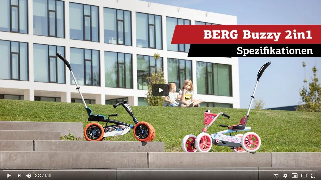 BERG Buzzy 2in1 Pedal-Gokarts | Spezifikationen
