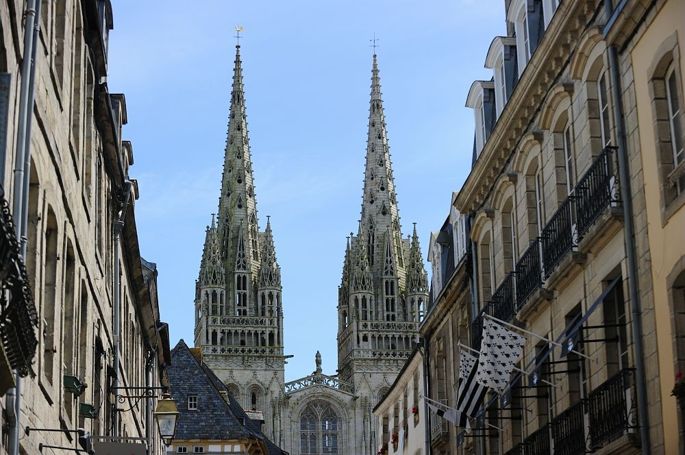 Quimper et sa cathédrale  ©.Le Gal Yannick