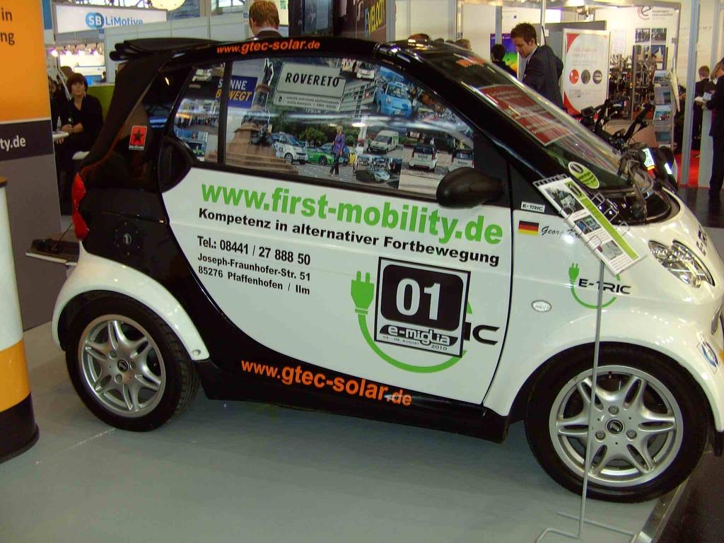 First Mobility Smart Elektrisch Umgebaut