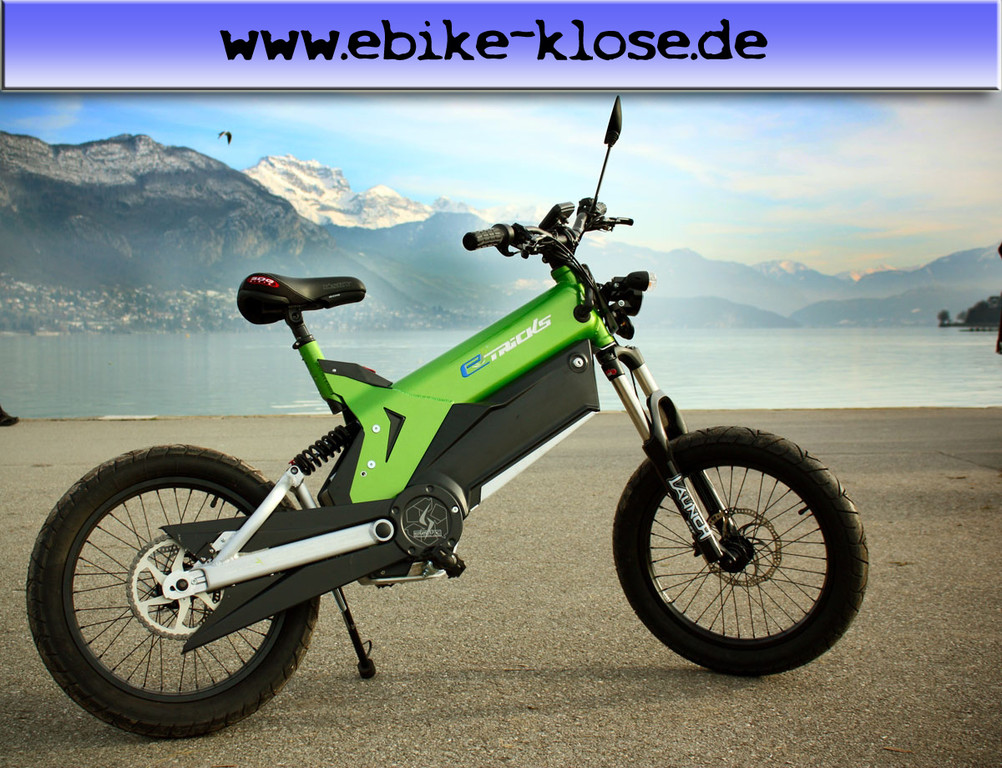 Elektro Moped in grünen Design