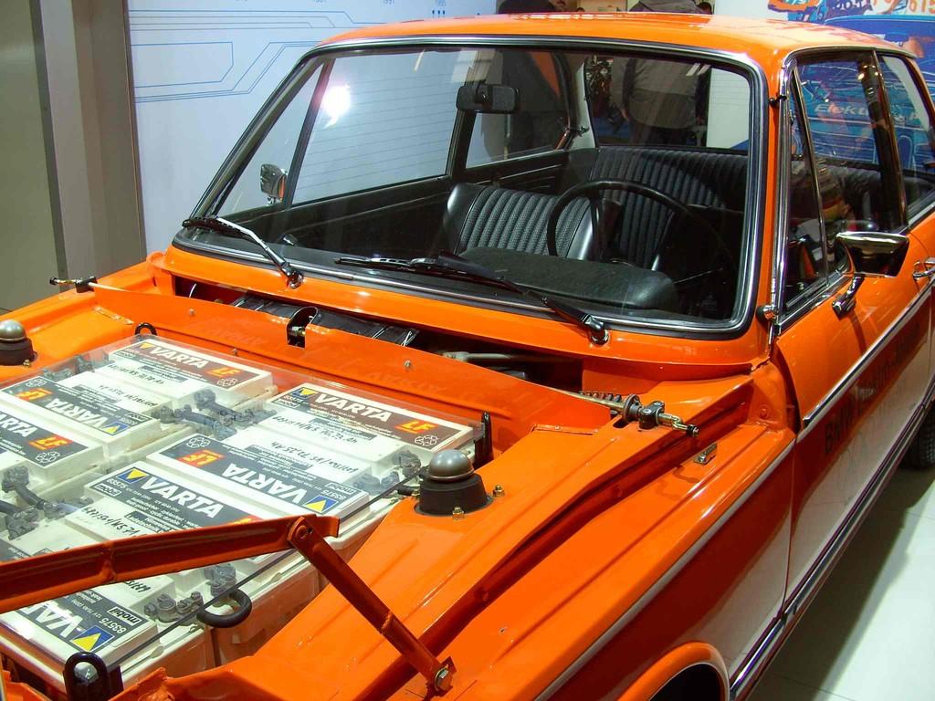 Von BMW zu WM 1972 damals gab es schon E Autos