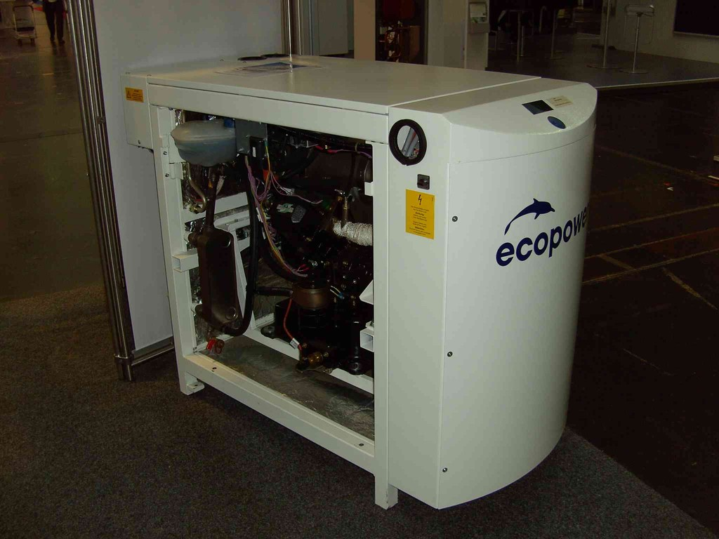 Ansicht ECO Power BHKW