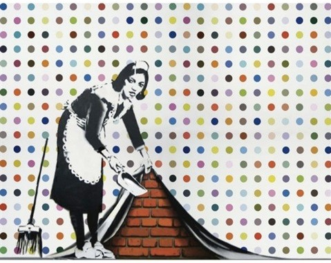 Banksy - Keep it Spotless