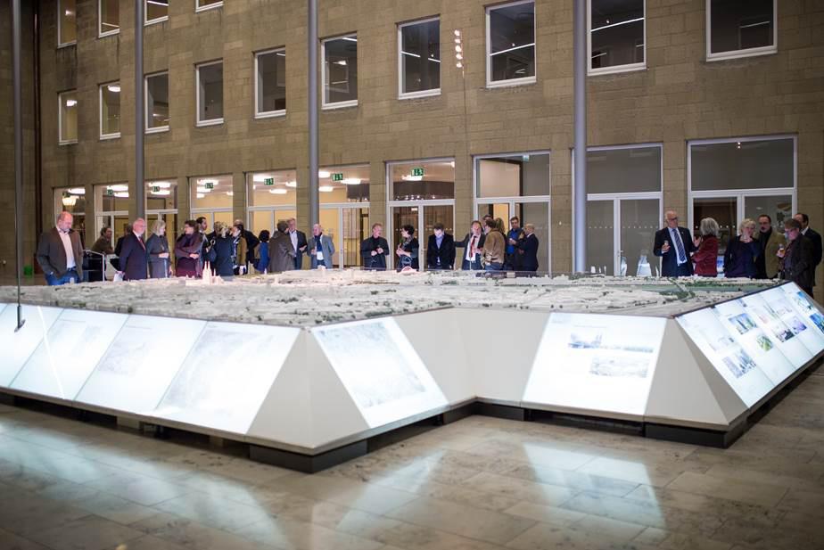 Sponsorenehrung im Spanischen Bau, 10. November 2014. Foto: © Fabian Korte, Brühl. Bildrechte bei »Freunde des Kölnischen Stadtmuseums e. V.«