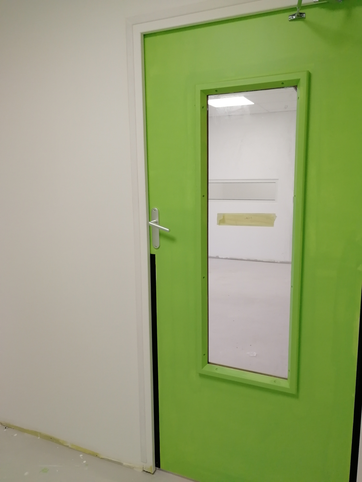 L'entrée : si vous n'aimez pas le vert, fuyez.