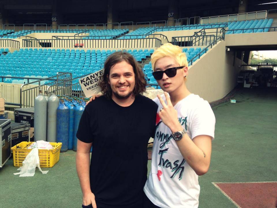 R-Tee junto a Tommy Trash (DJ Internacional)