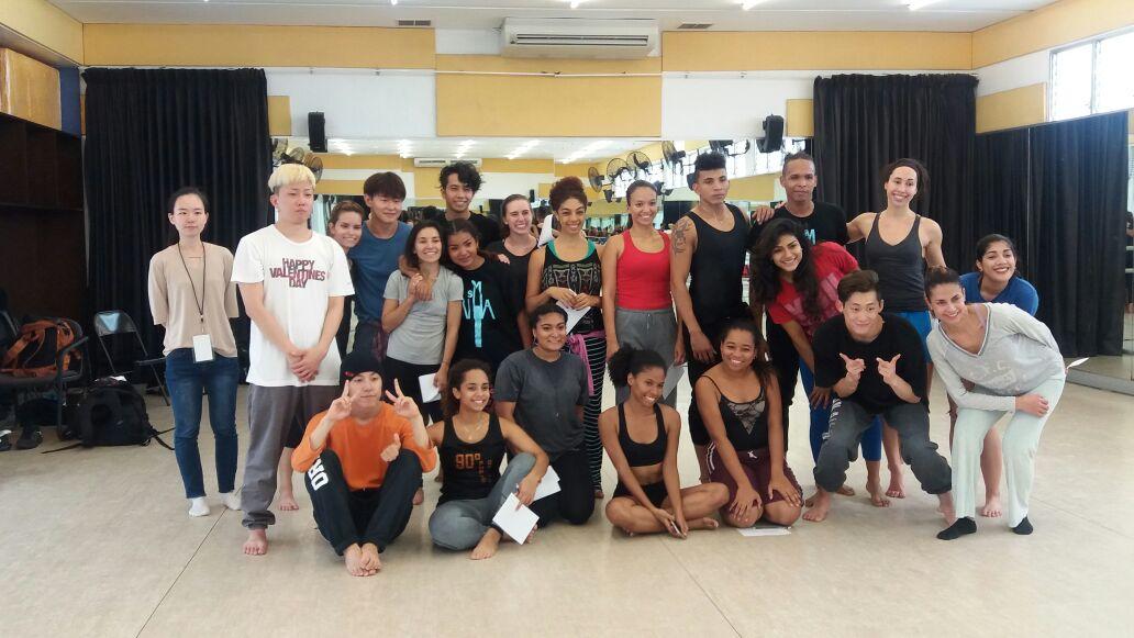 Masterclass con bailarines profesionales locales