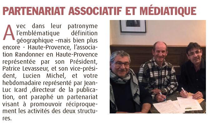 Haute-Provence-Info -- 23 au 29 mars 2018 -- Partenariat HPI RHP