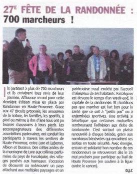 Avril 2017 - Haute-Provence-Info - Fête de la Randonnée 2017