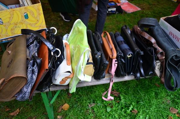 Viele Taschen