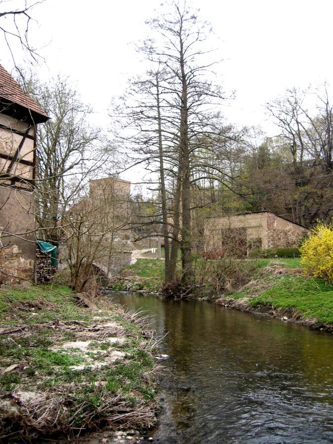 Hinter der Schlossmühle