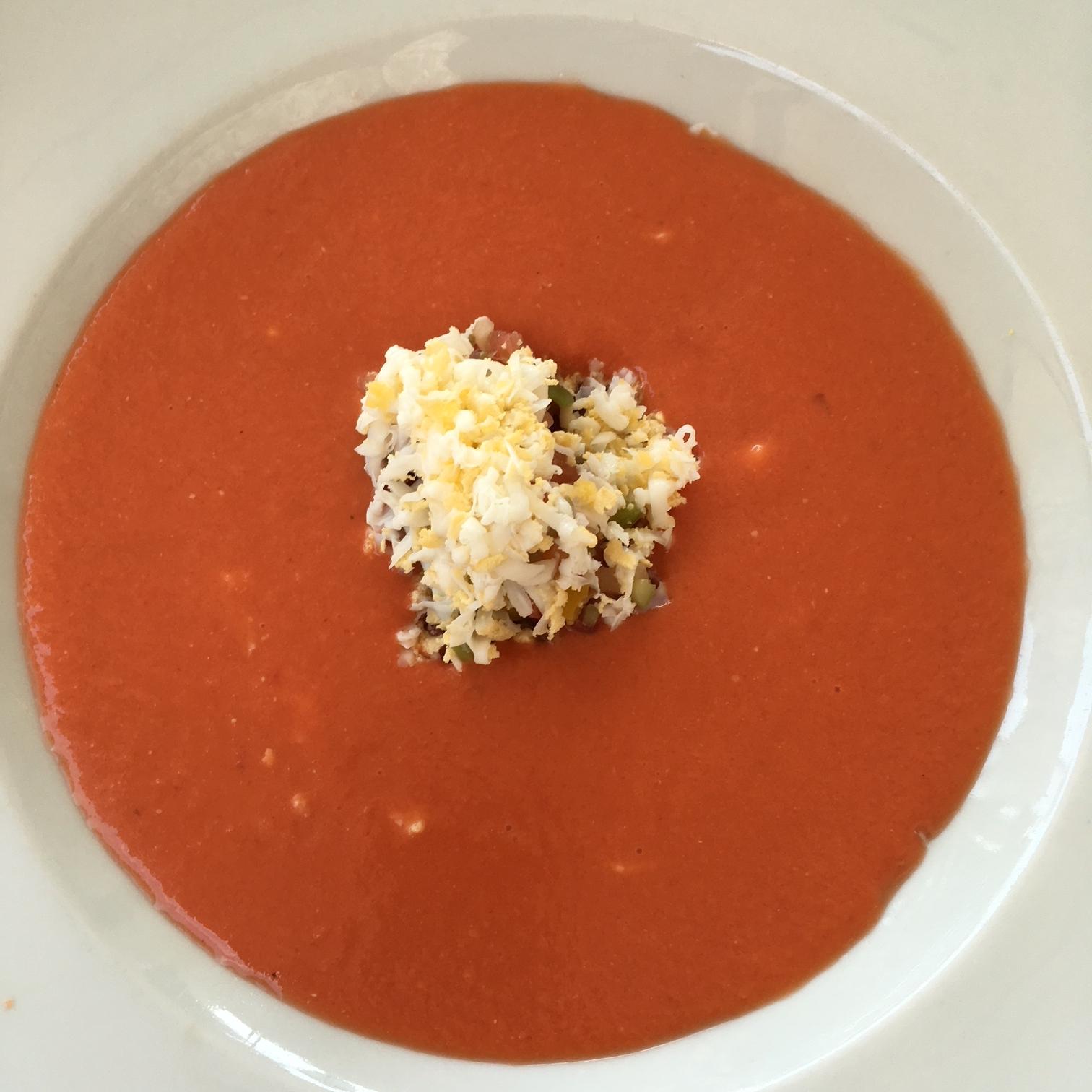 Huisgemaakte Gazpacho