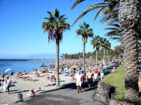Strand Las Amerikas auf Teneriffa