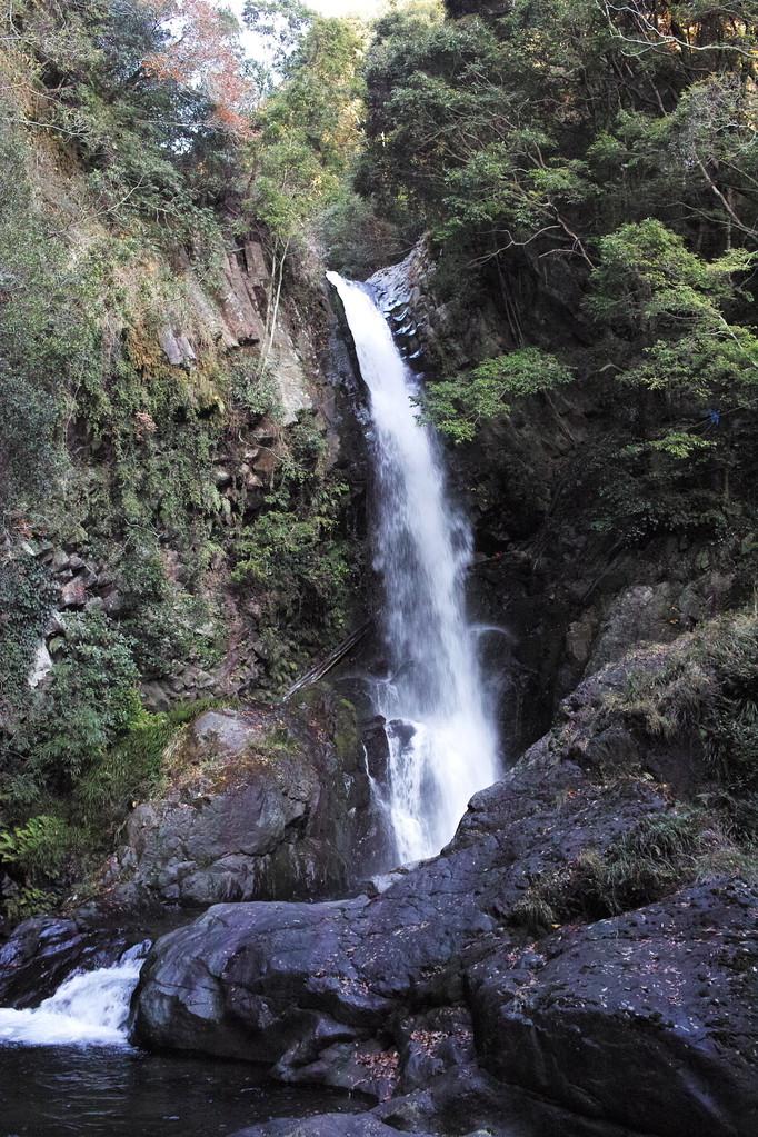 一番大きな釜滝