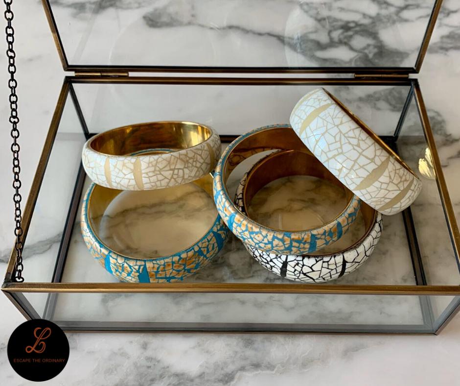 Armband eggshell - small - 45€ / medium - 55€ - (ook apart verkrijgbaar)