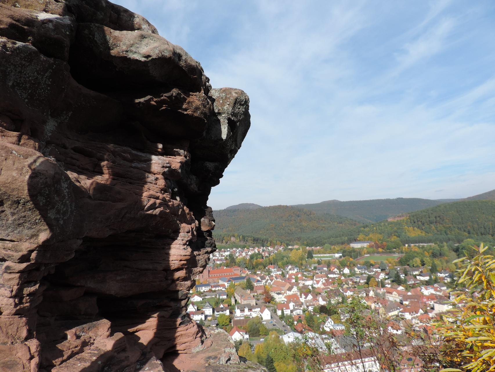 Ausblick auf Hauenstein