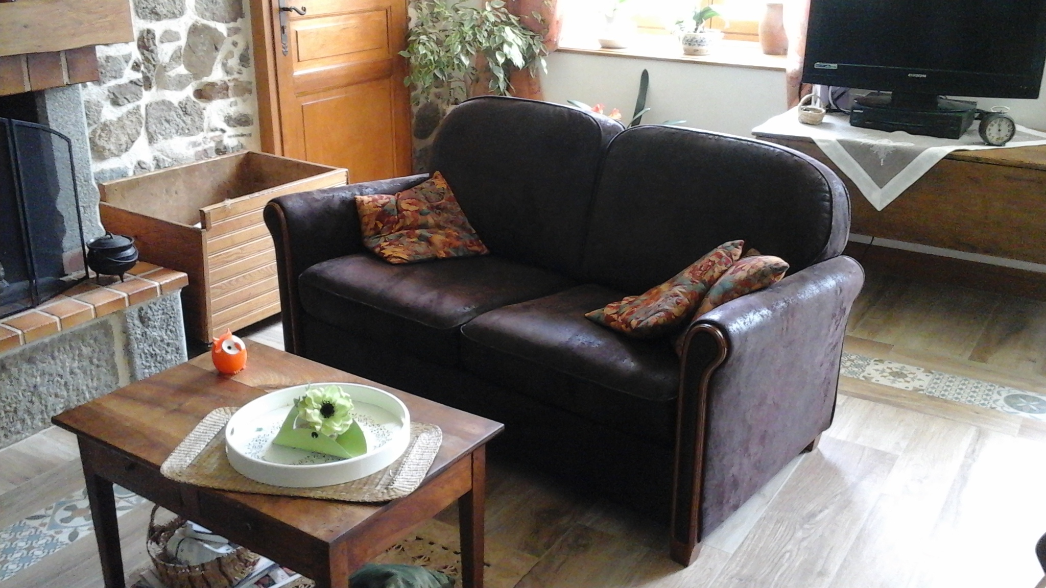 Canapé avec tissu Casal