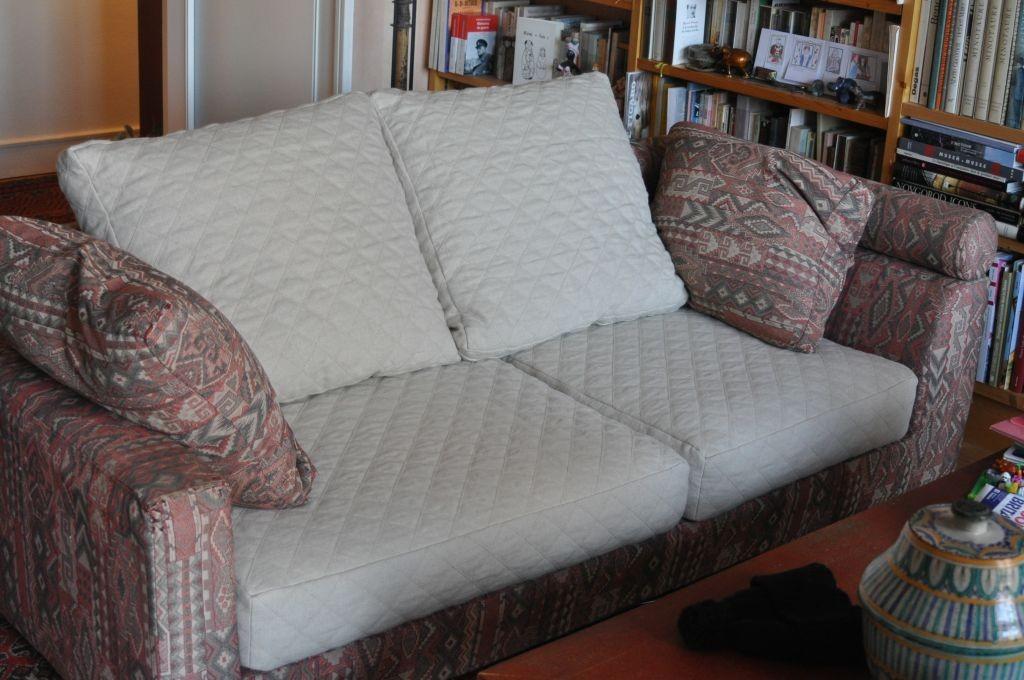 Coussins canapé assortis