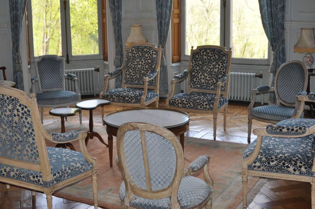 Salon bleu Louis XVI