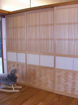 腰板に網代を入れたNEXT21の大阪格子表面の写真