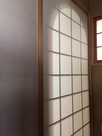 茶室入り口
