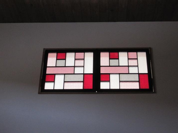 天窓の彩り障子