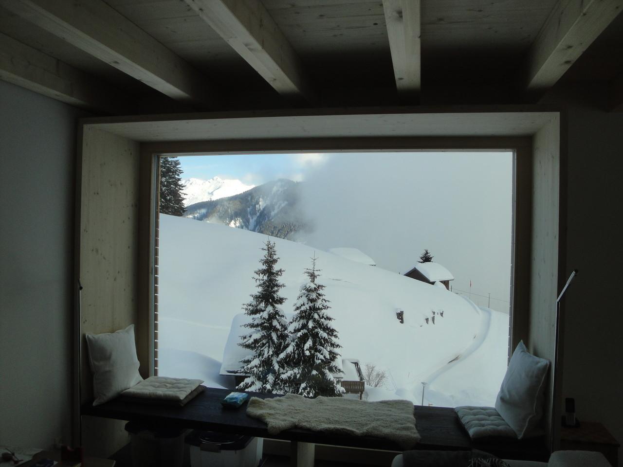 Fenster Ferienhaus, Braunwald