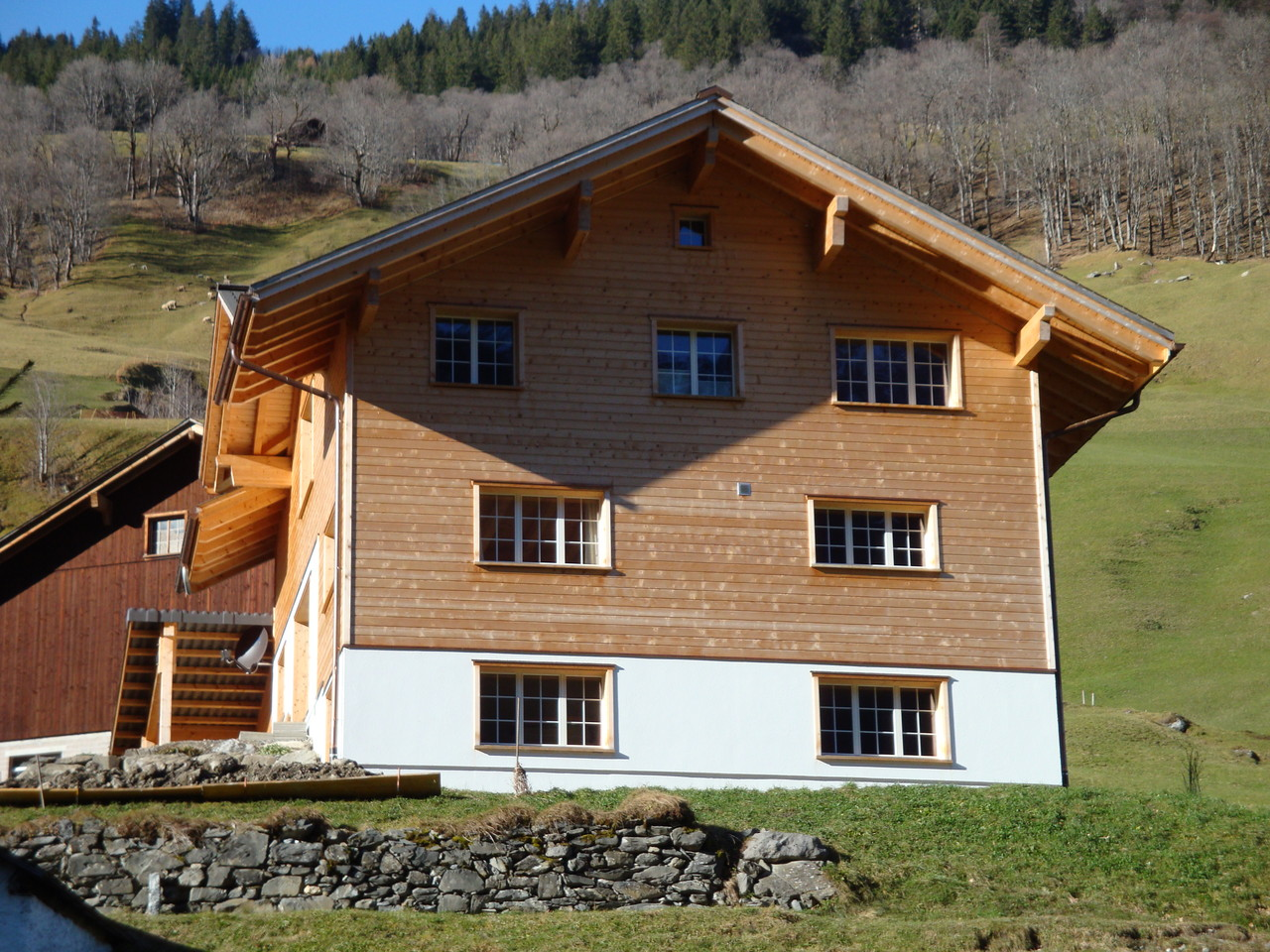 Neubau Einfamilienhaus, Elm