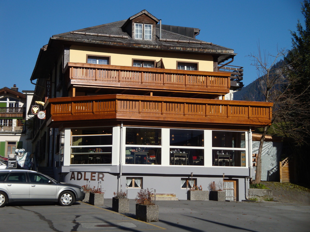 Wintergartenanbau, Linthal (neu)