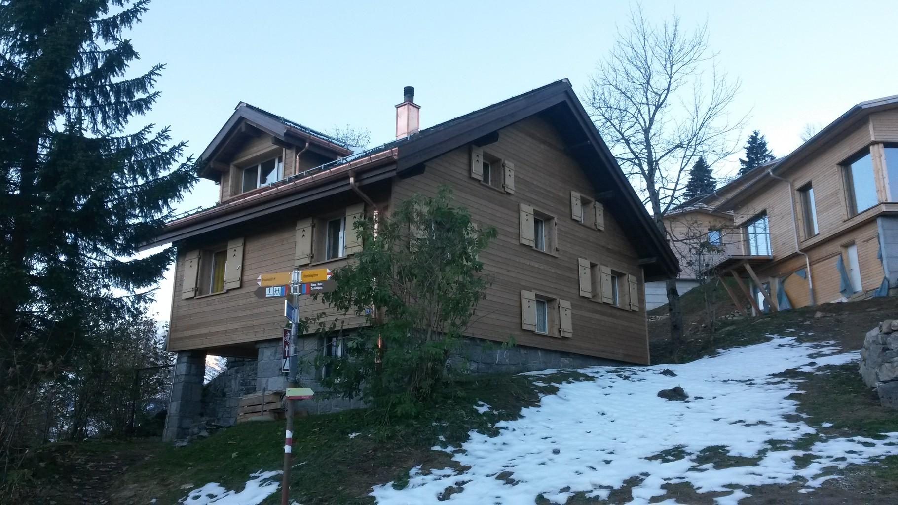 Modernisierung Ferienhaus Braunwald