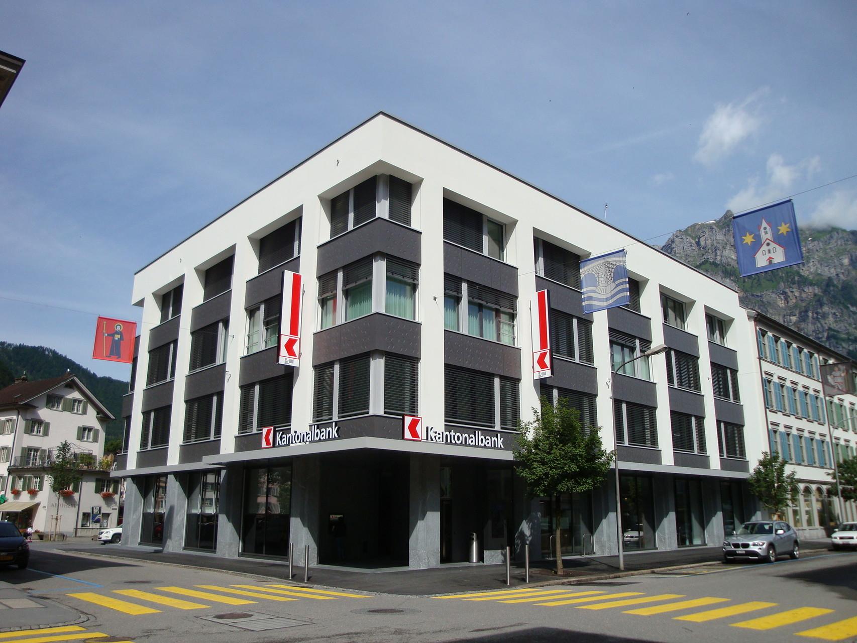 Fenster Glarner Kantonalbank, Glarus