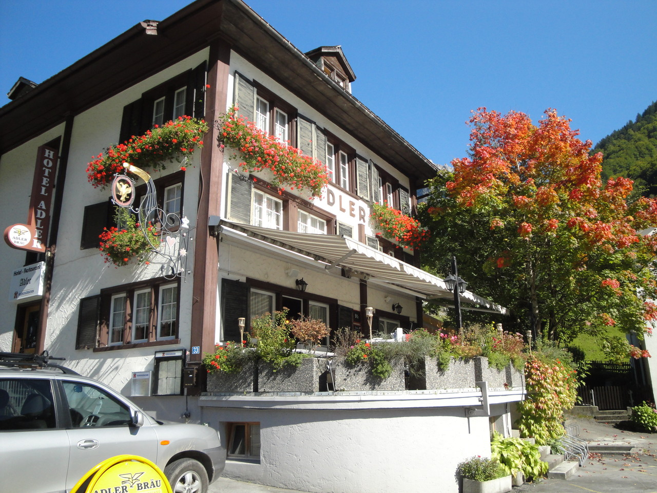 Terrasse, Linthal