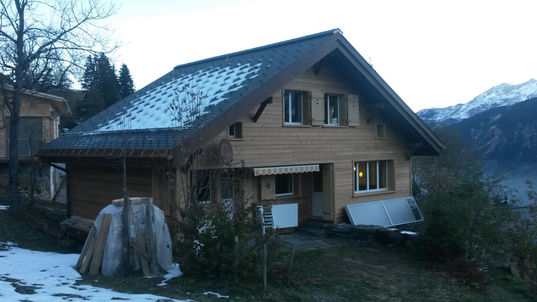 Modernisierung Ferienhaus, Braunwald