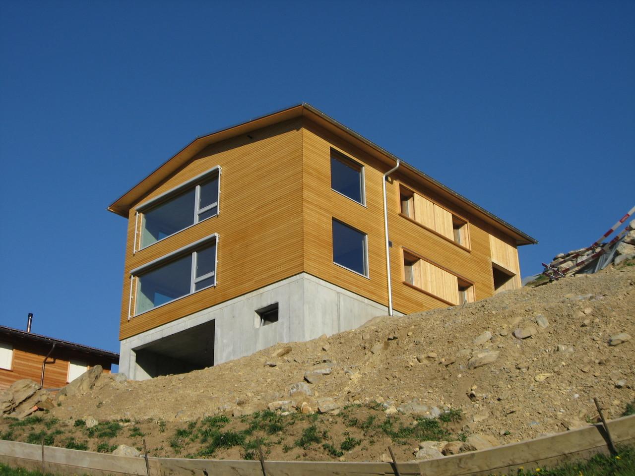 Neubau Ferienhaus, Braunwald