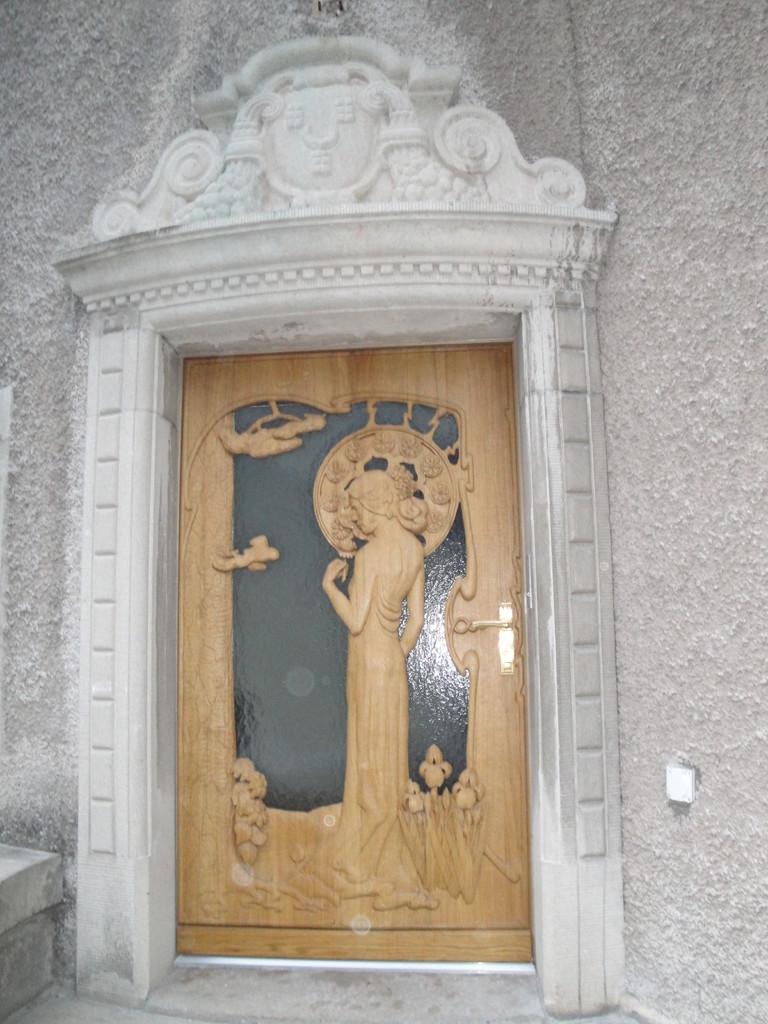 Haustüre Wohnhaus, Glarus