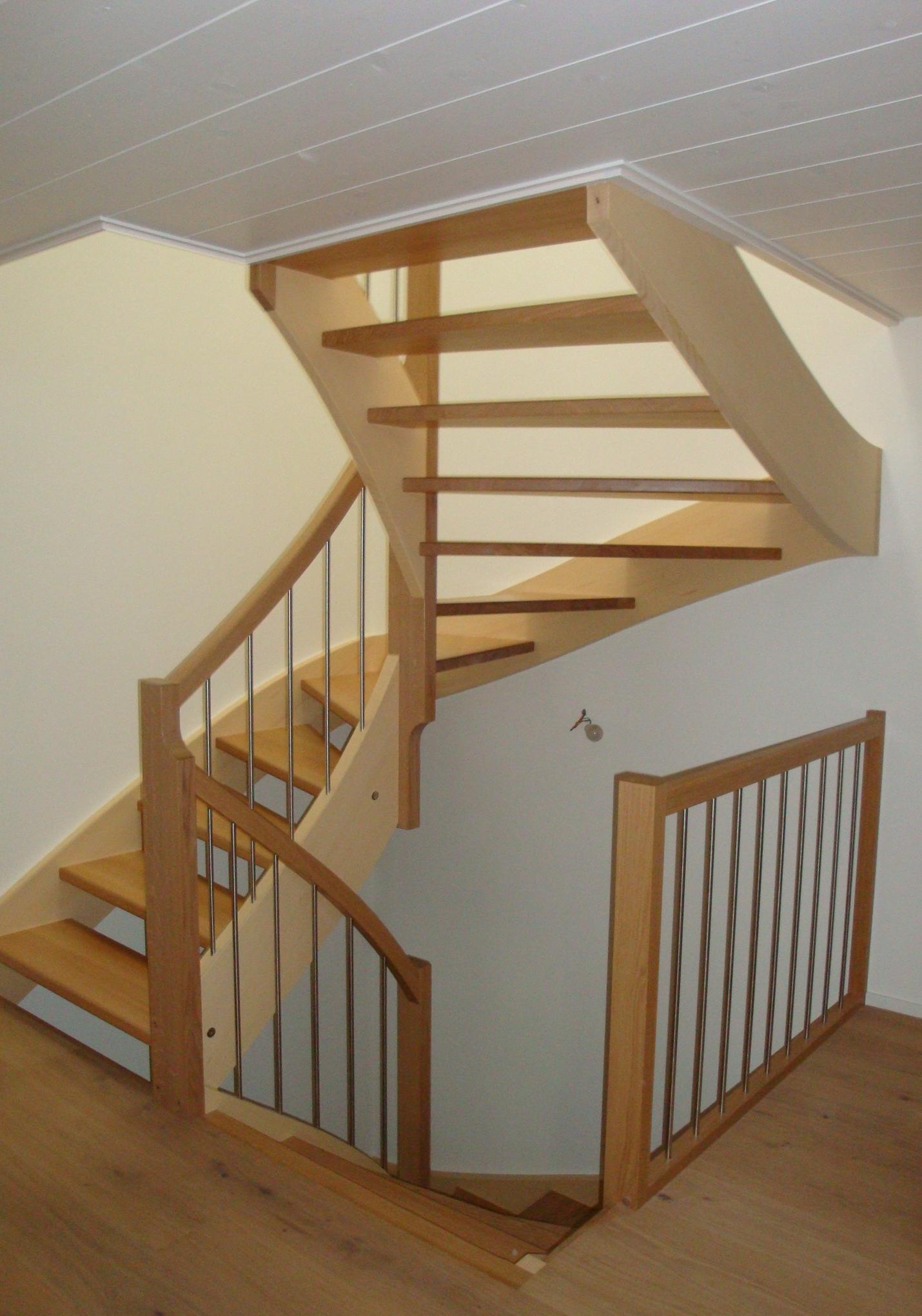 Treppe in Umbau Einfamilienhaus, Glarus