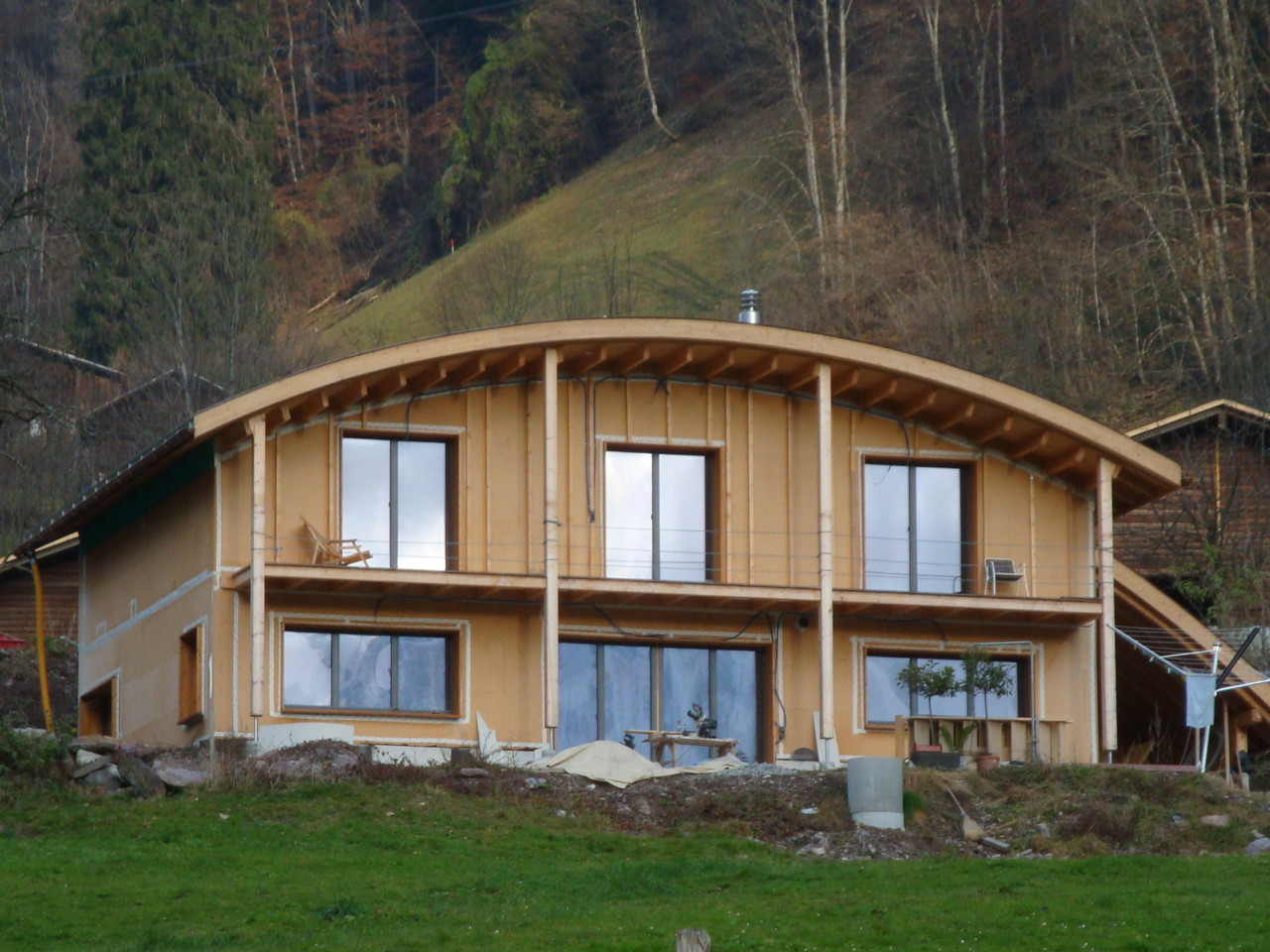 Neubau Einfamilienhaus, Diesbach