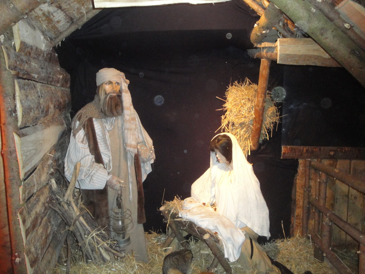Maria und Josef mit Christkind