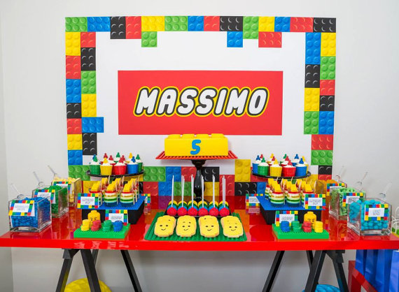 We speelden er zelf ook mee, dus hoe tof is een Lego party voor je jarige zoontje!