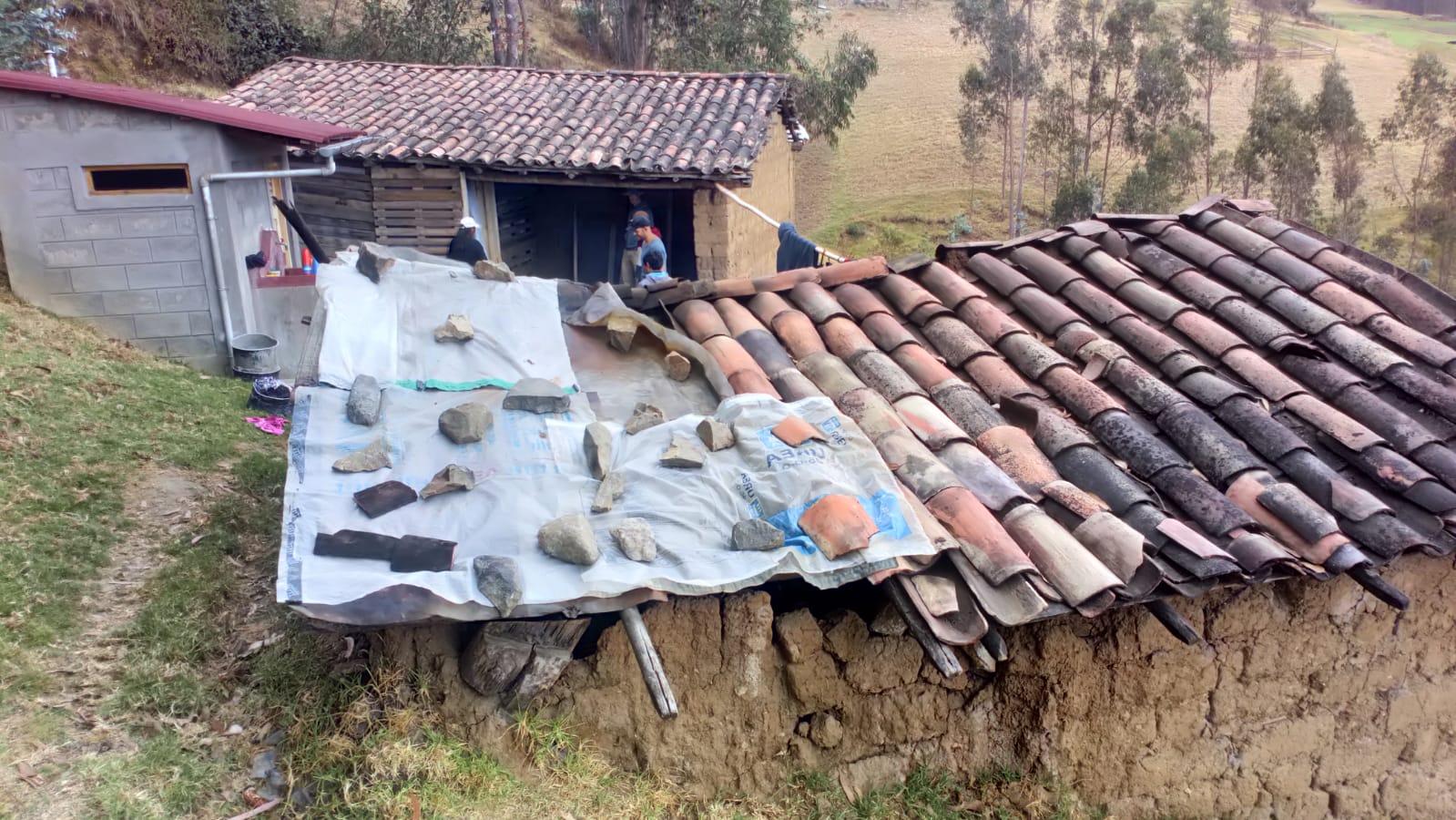 Ob das undichte Dach das nächste Projekt wird?