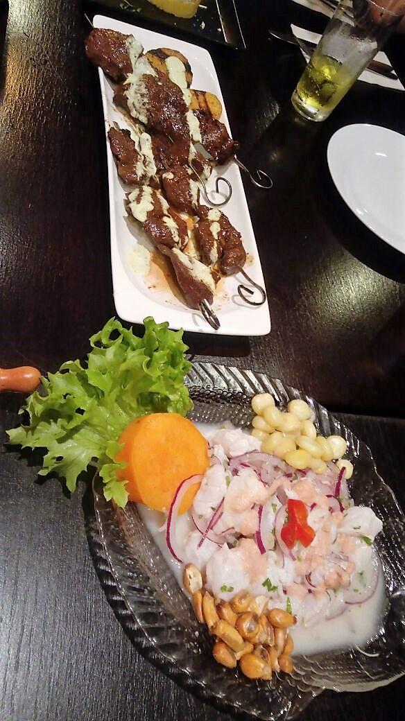 Super leckeres Essen beim Peruaner.