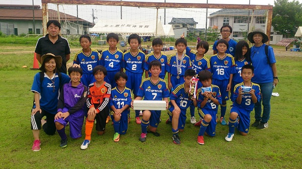 新潟トレジャー交流大会でFCグランディール宇都宮は準優勝でした!