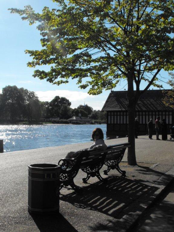 Noémie à Hyde Park