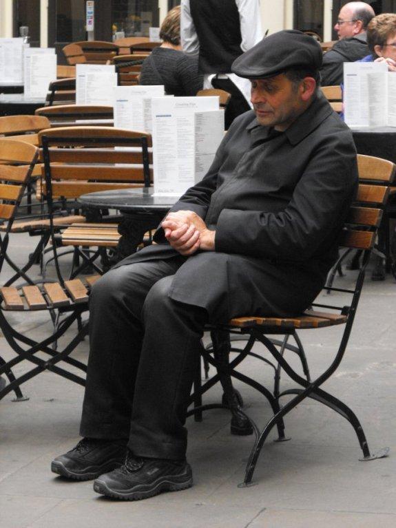 Vieux Monsieur à Covent Garden