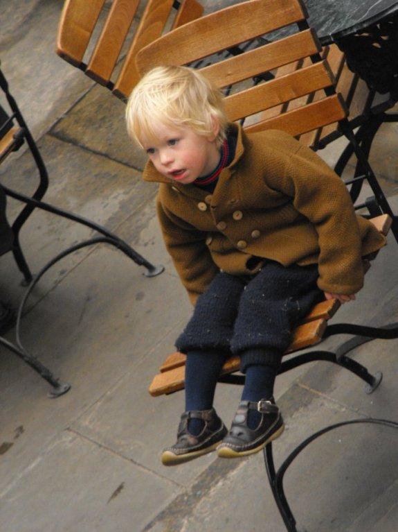 Petit garçon à Covent Garden