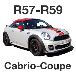 MINI R57 R58 R59 Cabrio Coupe Tuning