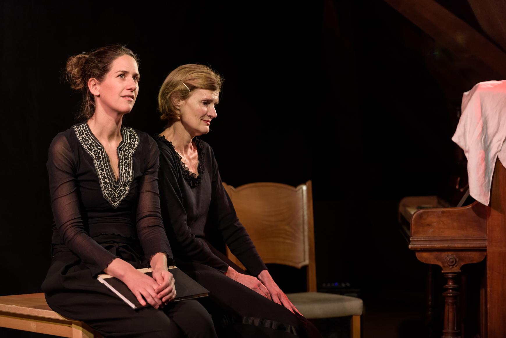 Claudia Klopfstein und Daniela Billiger (Foto: Daniel Portmann)