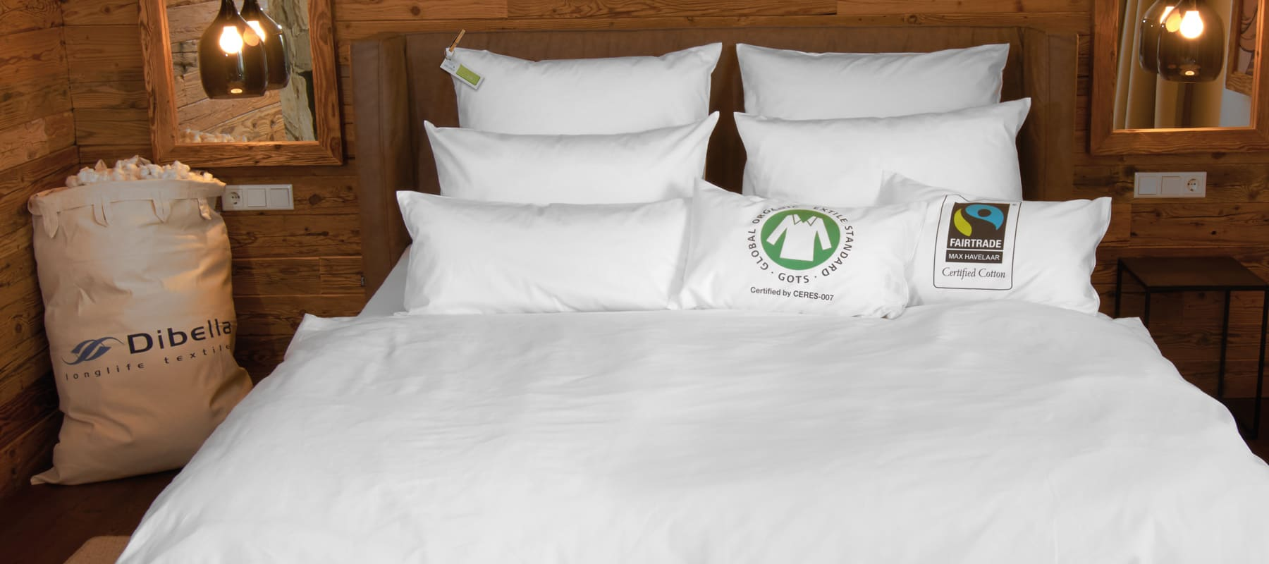 Experience Dibella+ products made from certified organic Fairtrade cotton